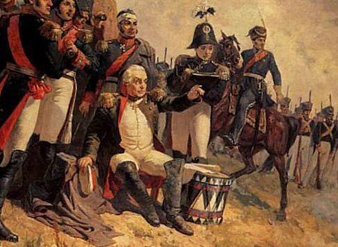 Кутузов з солдатами