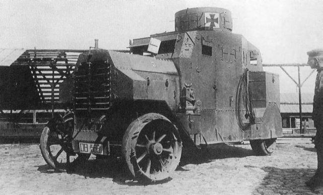 11 військових автомобілів часів 1-ї світової війни (11 фото)