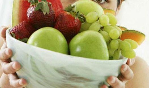 Їжте більше фруктів і овочів