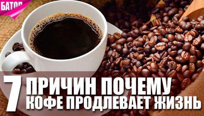 Чому любителі кави живуть довше