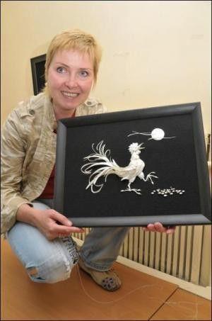 Fish Art - картини з риб`ячих кісток Олени Журавської (9 фото)