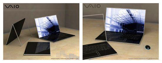 Sony VAIO Zoom Holographic - переможець в номінації - Кращий концептуальний ноутбук