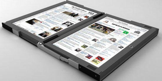 Кращі концептуальні ноутбуки року: Canova Dual Touch Screen Laptop