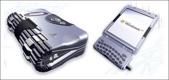 Кращі концептуальні ноутбуки року: Flexi PDA від Daniel Alexander