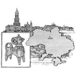 Україна - країна, картинка чорно-біла