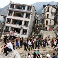 землетрусу Китай